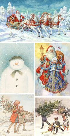 (all images by Carl Larsson)     *                  tracklist:  1. The Snowman // story by Raymond Briggs, words and music by Howard Bla...
