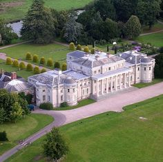 Shugborough Hall, Staffordshire, England late Patrick Litchfield's home# English Manor Houses, English Castles, Palaces, Castle House, Le Palais, Grand Homes, Marquise, Country Estate, English Countryside