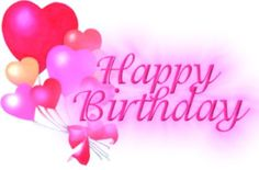 happy birthday girl pink graphics - Google Search