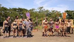 Survivor 2016 tribes on episode 03