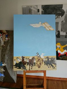 works in progress...: By the Time I Get To the Studio I Know What the Painting Will Look Like
