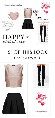 """""""Untitled #26"""" by hellensfashion ❤ liked on Polyvore featuring Miss Selfridge, Jeffrey Campbell, T By Alexander Wang, Ultimate and Love Quotes Scarves"""