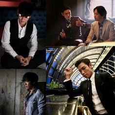 """More photos of T.O.P from his latest movie """"Tazza 2: Hand of God""""  #TOP #TABI #BIGBANG"""