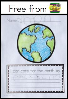 Simply Kinder: Earth Day for Kindergarten {Free Earth Day Activity}