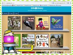 Falling Into First: Free Online Library For Beginning Readers