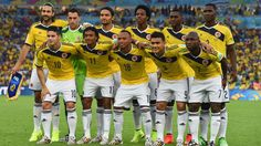 RIO DE JANEIRO, BRAZIL - JUNE 28: Colombia pose for a team photo prior to the 2014 FIFA World Cup Brazil round of 16 match between Colombia and Uruguay at Maracana on June 28, 2014 in Rio de Janeiro, Brazil. (Photo by Matthias Hangst/Getty Images)  2014 FIFA World Cup Brazil™: Colombia-Uruguay - Photos - FIFA.com