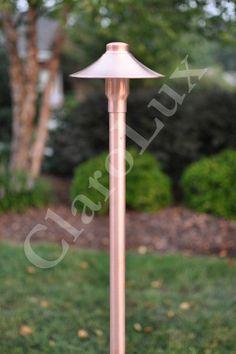 ClaroLux CL-AL1 Copper LED Path Light