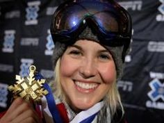 Sarah Burke (1982-2012) - was a four-time Winter X Games gold medalist and pushed to have superpipe skiing added to the Winter Olympics.