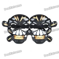 Material: Plastic - Funny skull style glasses - Great for Halloween party - Will ship 1 piece in random color http://j.mp/1ljHtN3
