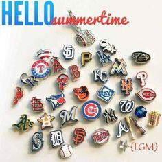 MLB™ charms from Origami Owl