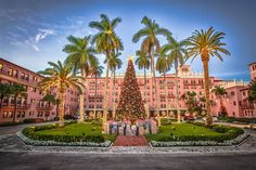 America's best hotels for Christmas (Photo: Jeff Horton / Courtesy of Boca Raton Resort & Club)