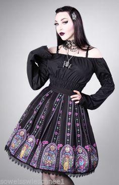 Restyle Gothic Lolita Rock Beauty and the Beast Prinzessin Belle Die Schöne und das Biest Disney Princess Pink Rose Petticoat Skirt WGT