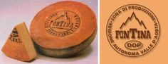 Fontina cheese , a product with Protected Designation of Origin. Region : Valle D'Aosta