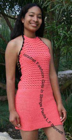 Party Dress Crochet Pattern by paulacrochet on Etsy