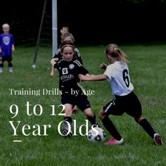 Soccer Drills for 9 to 12 Year Olds – Top Soccer Drills for Youngsters Soccer Drills for 9 – 12 Year Olds Soccer Practice Drills, Soccer Training Drills, Soccer Drills For Kids, Soccer Workouts, Soccer Coaching, Soccer Tips, Soccer Drills For Beginners, Soccer Footwork Drills, Volleyball Tips