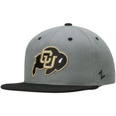 Colorado Buffaloes Zephyr Z11 Snapback Adjustable Hat - Gray
