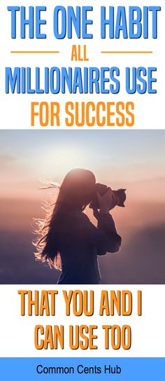 There's a single habit that all millionaires lock onto for success. The truth is, most people approach success the opposite way. Here's their simple habit. Success | Personal development | personal improvement. #makingmoney