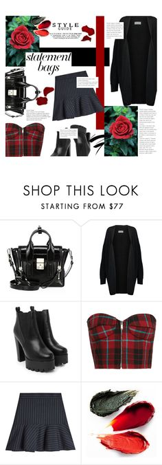"""Rebelicious."" by zeljkaa ❤ liked on Polyvore featuring 3.1 Phillip Lim, By Malene Birger, Nasty Gal, Zadig & Voltaire, Rituel de Fille and statementbags"