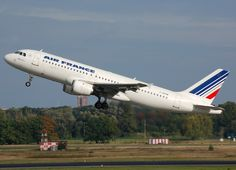 Airbus A320 - Air France - Many flights between Nice (NCE) and Paris (ORY)