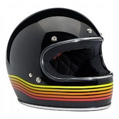 Might be the winner! --Biltwell Gringo Limited Edition Spectrum Helmet