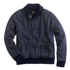 Coalridge shawl sweatshirt
