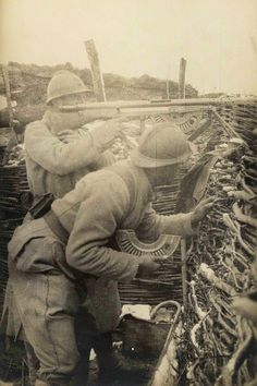 WWI, 21 March 1917; Domèvre-sur-Vezouze, Little post. -Le fonds Valois