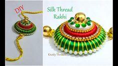 Raksha Bandhan Special | How to Make Silk Thread Rakhi at Home | Tutoria...