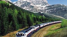 Ride the Rocky Mountaineer Railroad