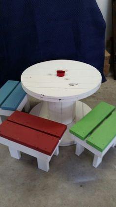 Kids Spool table