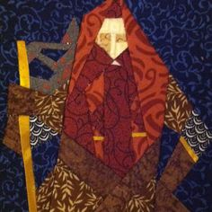 Geek Crafts - LOTR quilt project