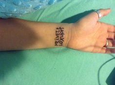 """First tattoo. It means """"stay strong"""" in Greek."""