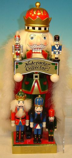 .  Collector of Nutcrackers stands 15 inches in height. Christmas Nutcrackers make great gifts and decorations.