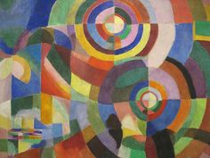 Electric prisms  Artist: Sonia Delaunay     Style: Orphism     Genre: abstract painting