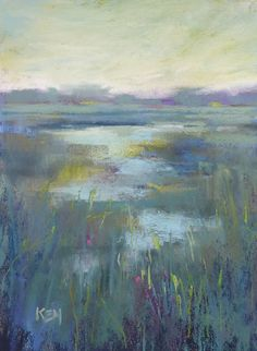 Painting my World: A Quick and Easy Way to Tone Your Pastel Paper