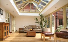 x Orangerie extension to rear - Extensions job in Sidcup, Kent - MyBuilder Bungalow Extensions, Garden Room Extensions, House Extensions, Orangerie Extension, Orangery Roof, Conservatory Decor, Rear Extension, Extension Ideas, Roof Lantern