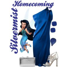 """""""Homecoming Silvermist"""" by alyssa-eatinger on Polyvore"""
