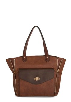 Play for Keepsake Bag by Melie Bianco - Faux Leather, Tan, Brown, Gold, Solid, Exposed zipper, Work, Better, Travel