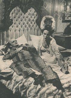 "Peter Boyle and Madeline Kahn in Mel Brook's ""Young Frankenstein"""