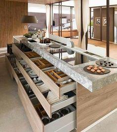 Cozinha com ilha dos sonhos!