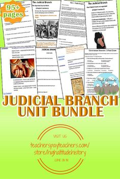 71 Best Judicial Branch images in 2019 | Judicial branch, Learning