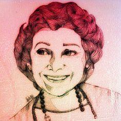 Hay abuelas guapas que te enseñan cosas que nunca olvidas #amordeabuela #grandmother #abuela #guapa #draw #dreams #dreamscantrue #portrait #love #illustration #mylove #instaart #artdraw #art4life #artisthelp #artworks_artist #nawden #bouchac #vida #creativepaper
