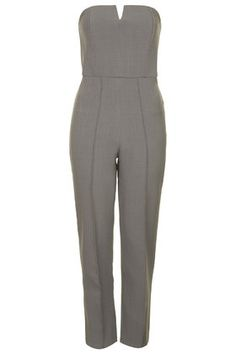 **Bandeau Skinny Tailored Jumpsuit by Rare