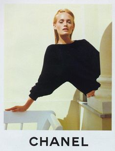 LIMEROOM 1990's | Amber Valletta by Karl Lagerfeld for Chanel SS 1996