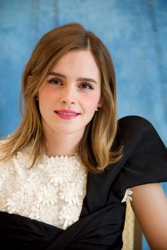 "Emma Watson at the ""Beauty and the Beast"" Press Conference in LA (03.05.17) Pinned by @lilyriverside"