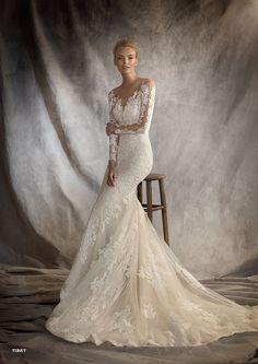 Discover the new Pronovias 2016 Bridal Catalog. | Pronovias
