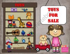 Toy Store - Working With Money from Sweet Integrations on TeachersNotebook.com -  (32 pages)  - Working with money; counting money; adding and subtracting money; word problems; open your own toy store; $