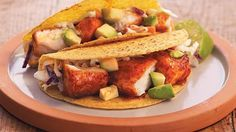 Dinner ready in just 20 minutes! Enjoy these delicious tilapia tacos made using Old El Paso® Stand 'N Stuff® taco dinner kit – a wonderful meal.