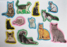 Cats Felt Board Flannel Board Story Set by NodinsNest on Etsy