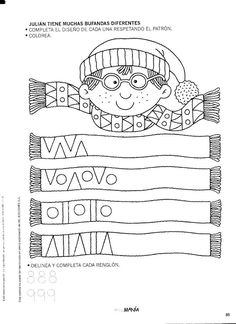 Album Archive - 456 numero mania del 1 al 30 Preschool Learning Activities, Preschool Worksheets, Winter Activities, Kindergarten Math, Kids Learning, Pre Writing, Writing Skills, Math Patterns, Winter Kids