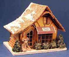 Snowy toy shop - 1/144 scale - $48.00 : S P MINIATURES hand crafted dollhouse miniatures, S P MINIATURES shop online for dollhouse  miniatures